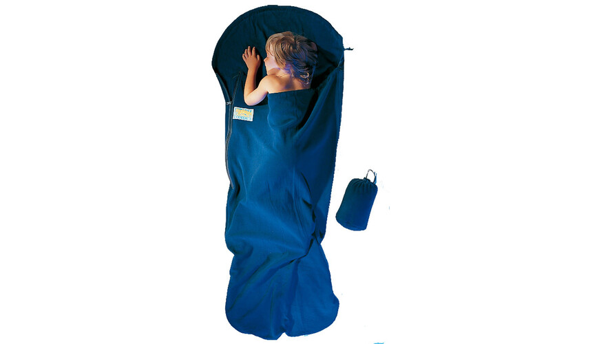 Cocoon KidBag Sovepose Fleece blå